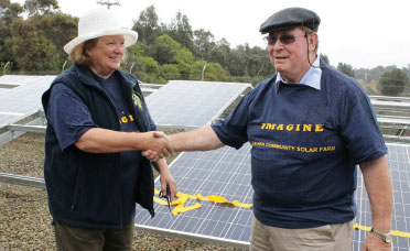 The project was a joint initiative of Bega Valley Shire Council and Clean Energy for Eternity, Inc. (CEFE).